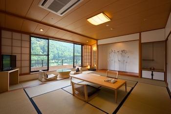 ONCRI和室Atelier 禁煙 和室 12畳/バス・トイレ付|古湯温泉おんくり
