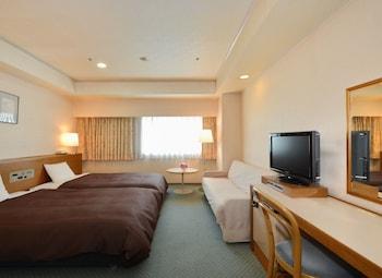 ツイン ルーム 喫煙|24㎡|名古屋クレストンホテル