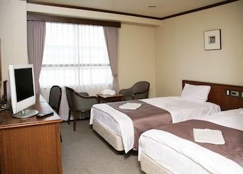 エコノミー ツインルーム シングルベッド 2 台|19㎡|かどやホテル