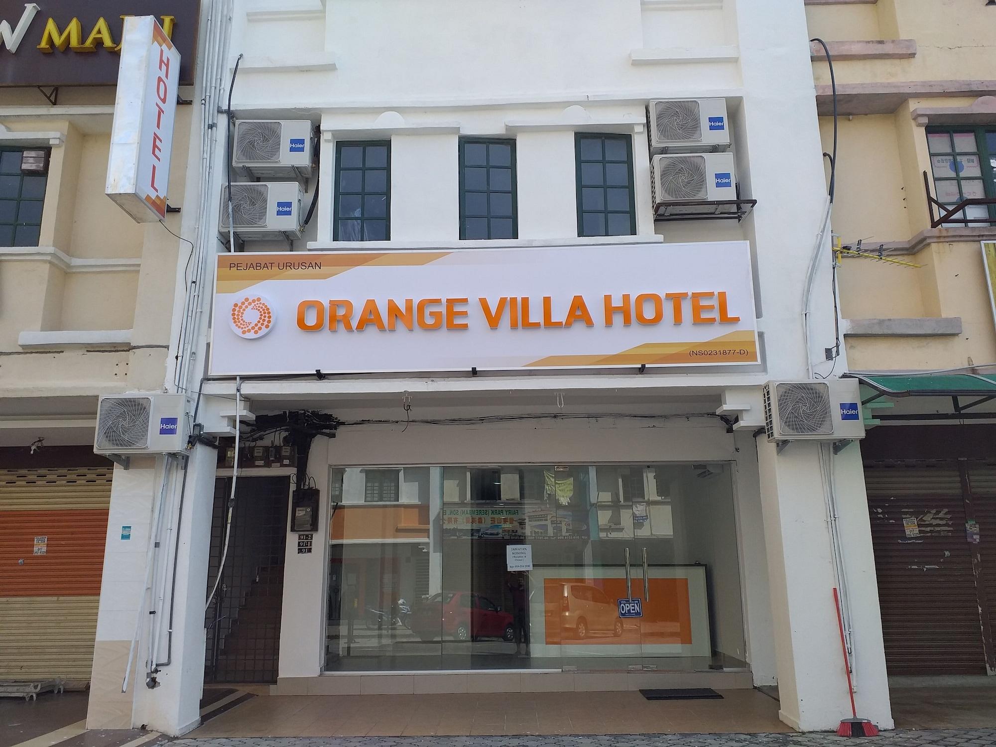 Orange Villa Hotel, Seremban