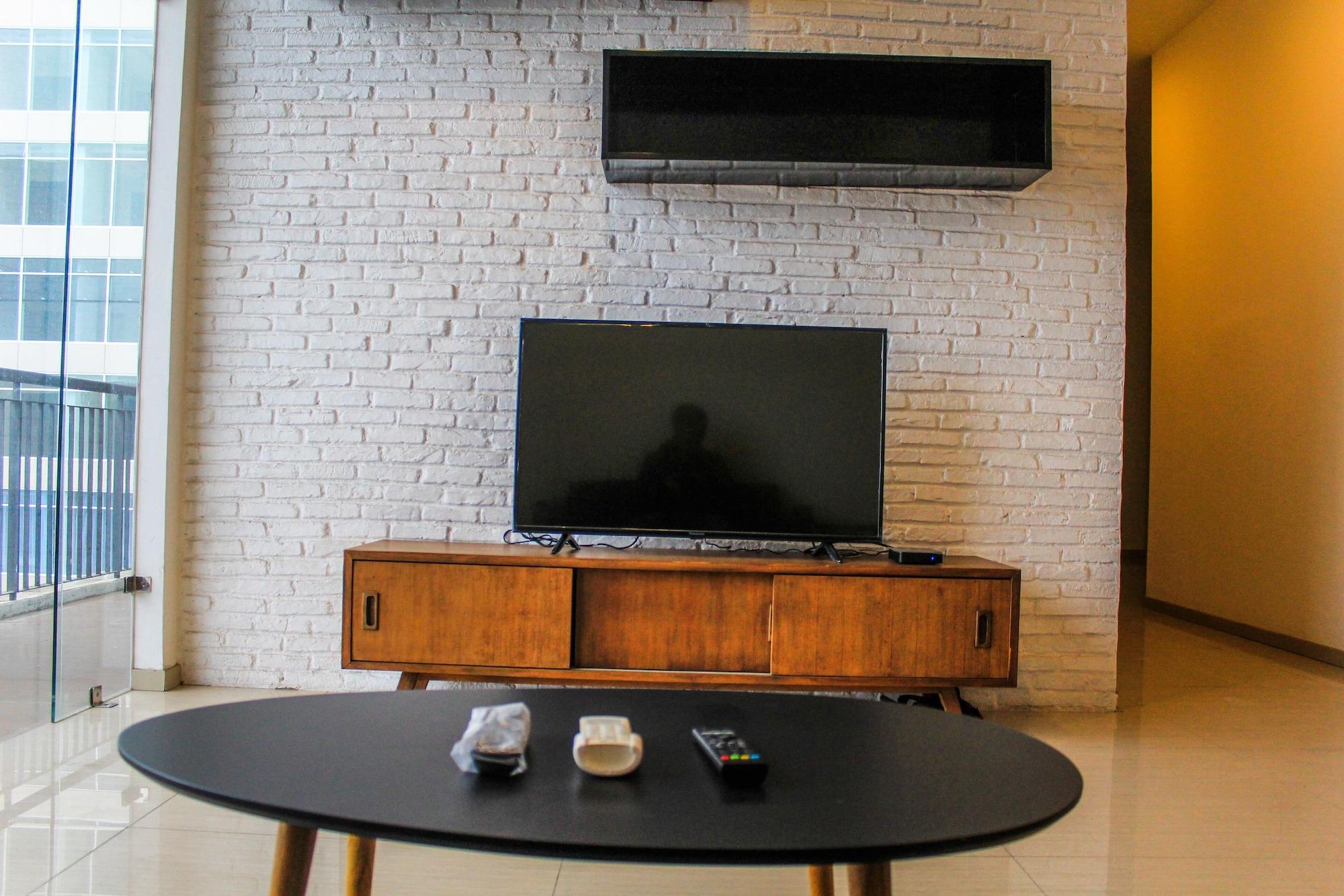 Homey and Warm 3BR Apartment at Ambassade Residences, Jakarta Selatan