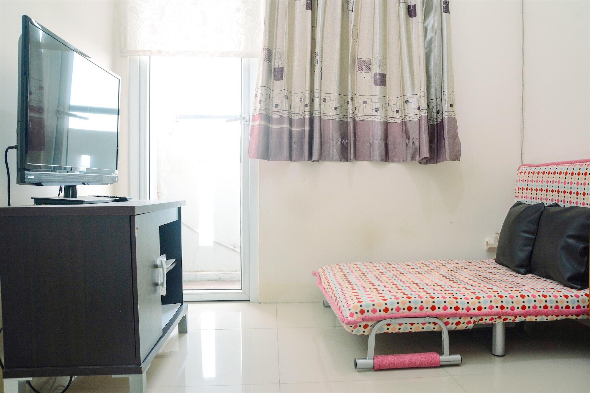Great 2BR at Green Pramuka Apartment, Jakarta Pusat