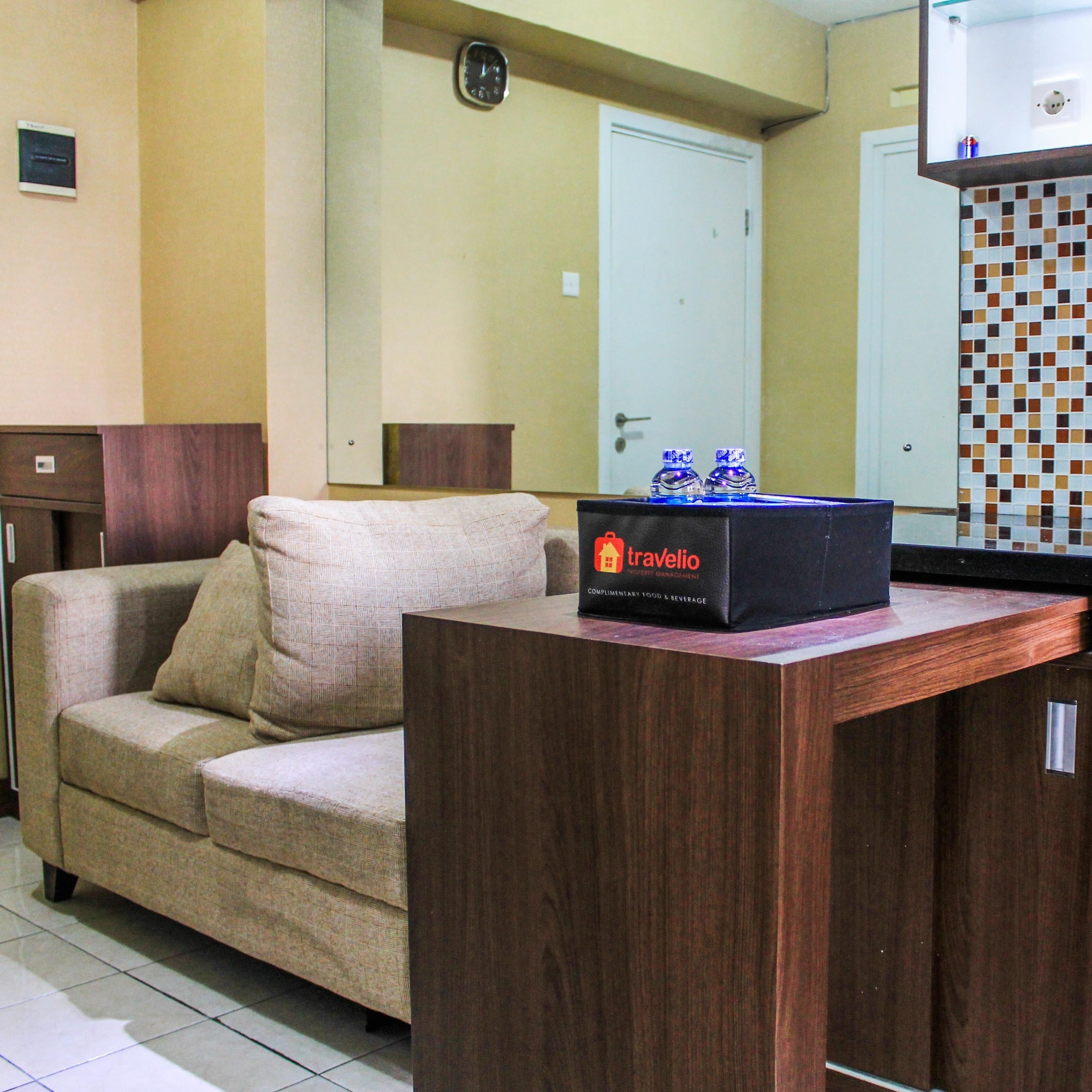 Comfortable and Tranquil 2BR Apartment at Green Pramuka By Travelio, Jakarta Pusat