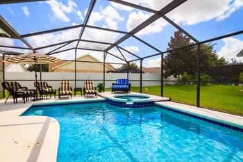 Orange Tree Resort, Pool, Spa And Game Room 4 Bedroom Home