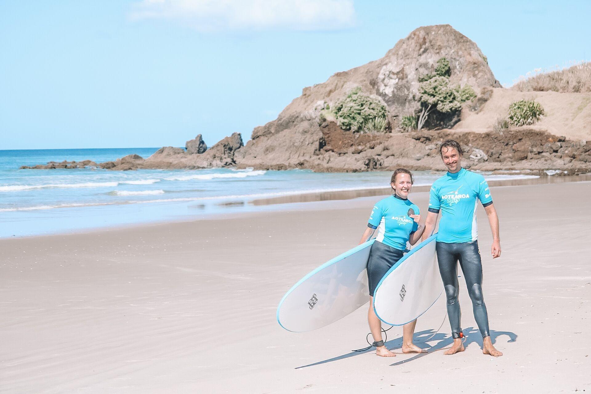 Aotearoa Surf Eco Pods, Rodney