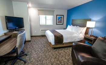 Room, 1 Queen Bed, Accessible (Mobility/Hearing w Roll in shower)