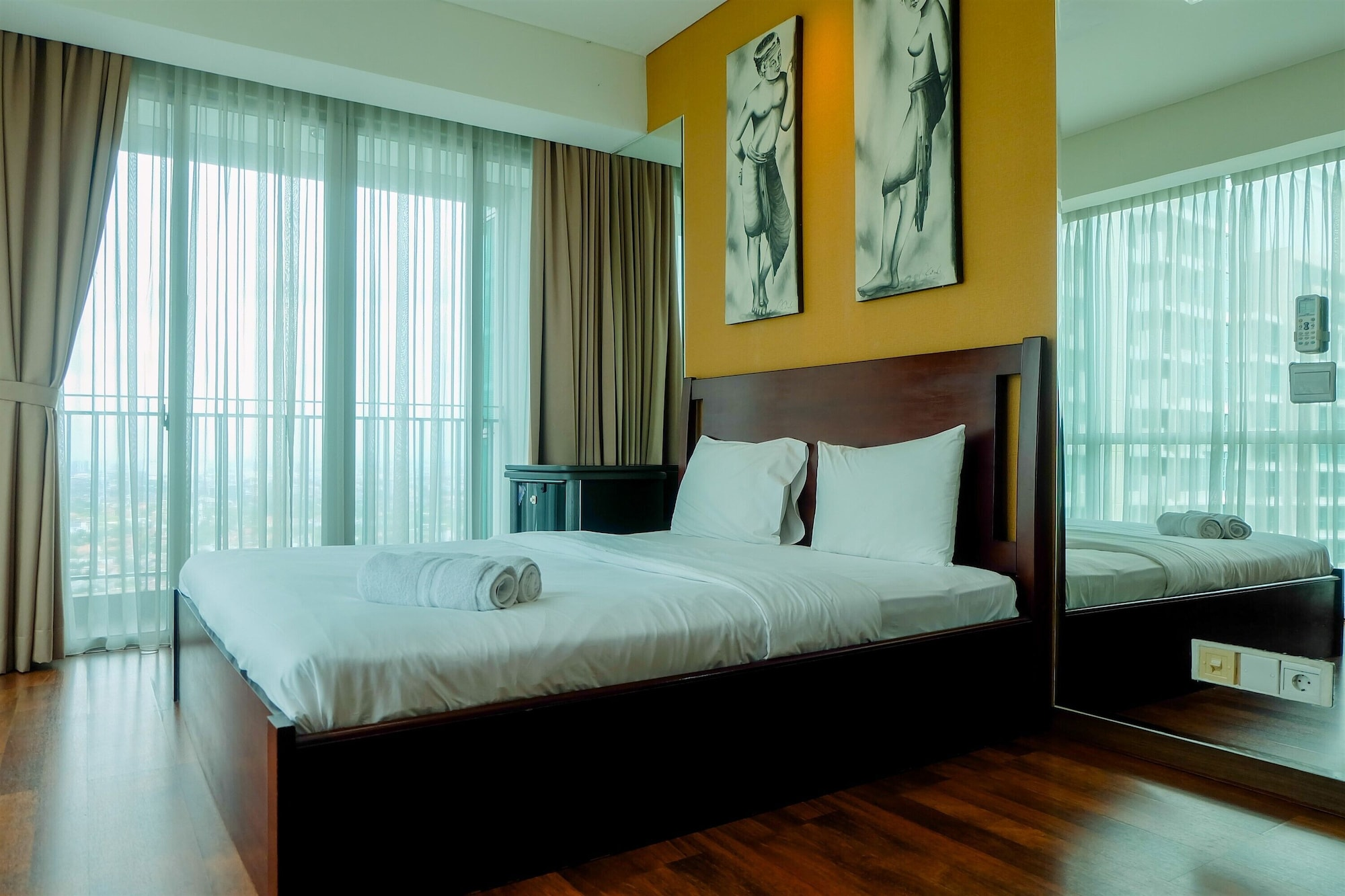 Premium and Spacious 3BR Apartment at Kemang Village, South Jakarta