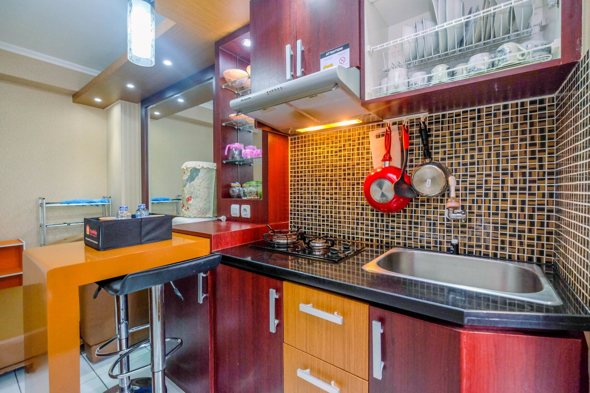 Minimalist 2BR Apartment at Kalibata City near Shopping Center, South Jakarta