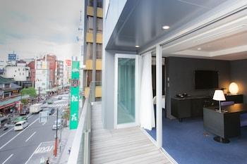 THE GATE HOTEL ASAKUSA KAMINARIMON BY HULIC Balcony