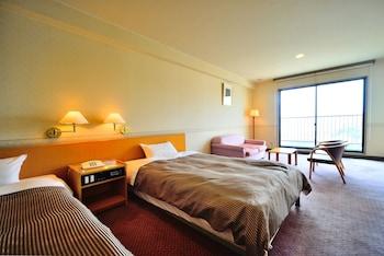 スーペリアツインルーム禁煙 海側|稲佐山観光ホテル
