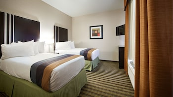 Family Suite, Multiple Beds, Non Smoking, Refrigerator & Microwave
