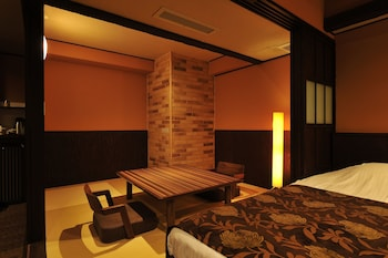 Japanese Western Room with Open Air Bath, Non Smoking, Lake View (East Build.)