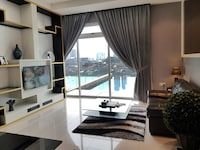 2 BR PREMIER (PRIVATE POOL B) 1K,1S (Check in at D\'Esplanade Residence)