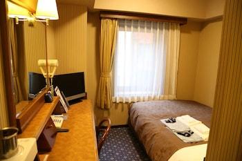 セミダブルルーム(ベッド135cm) 禁煙|12㎡|ホテルニューステーション