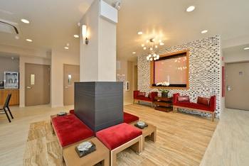 Lobby at Comfort Inn Midtown West in New York