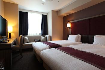 ツインルーム セミダブルサイズベッド 2 台 禁煙 (26平米)|26㎡|ダイワロイネットホテル札幌すすきの