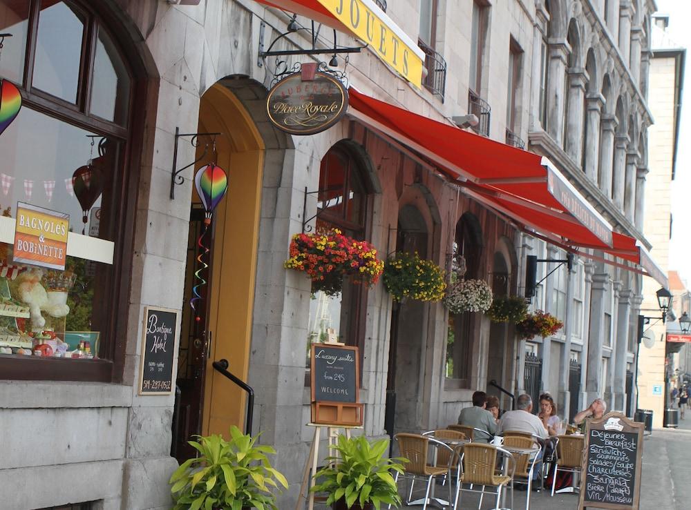 오베르즈 드 라 플라세 로얄(Auberge de la Place Royale) Hotel Image 42 - Hotel Front