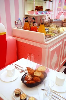 朝食スペース