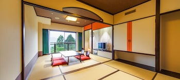 Japanese-Style Room with Futon, Mountain View, 36㎡