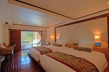 Twin Room with Open-air bath, Non Smoking, 36sqm
