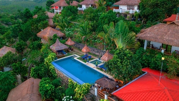 Marquis Sunrise Sunset Residential Cottages Bohol Aerial View