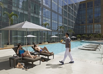 Fairmont Makati Outdoor Pool