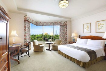 Premier Room  1 King Bed  Garden View