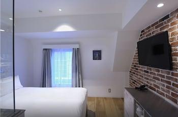 ダブル (ファクトリーモダン)禁煙 【ベッド幅140cm】|SHIBUYA HOTEL EN