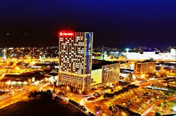 Crimson Hotel Alabang Aerial View