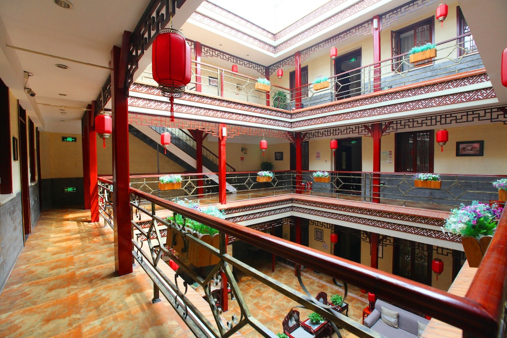 北京ハイド コートヤード ホテル (北京合徳縁四合院酒店)