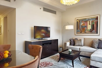 Raffles Makati Living Room