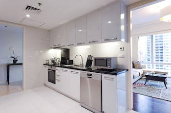 Raffles Makati In-Room Kitchenette
