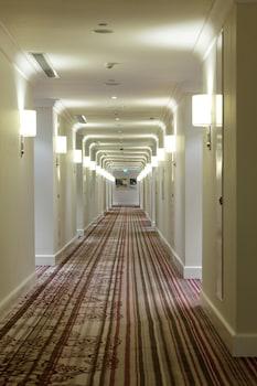 Raffles Makati Hallway