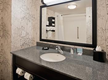 Bathroom at Hampton Inn & Suites Columbia/South in Columbia