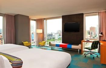 Room, 2 Queen Beds, View, Corner