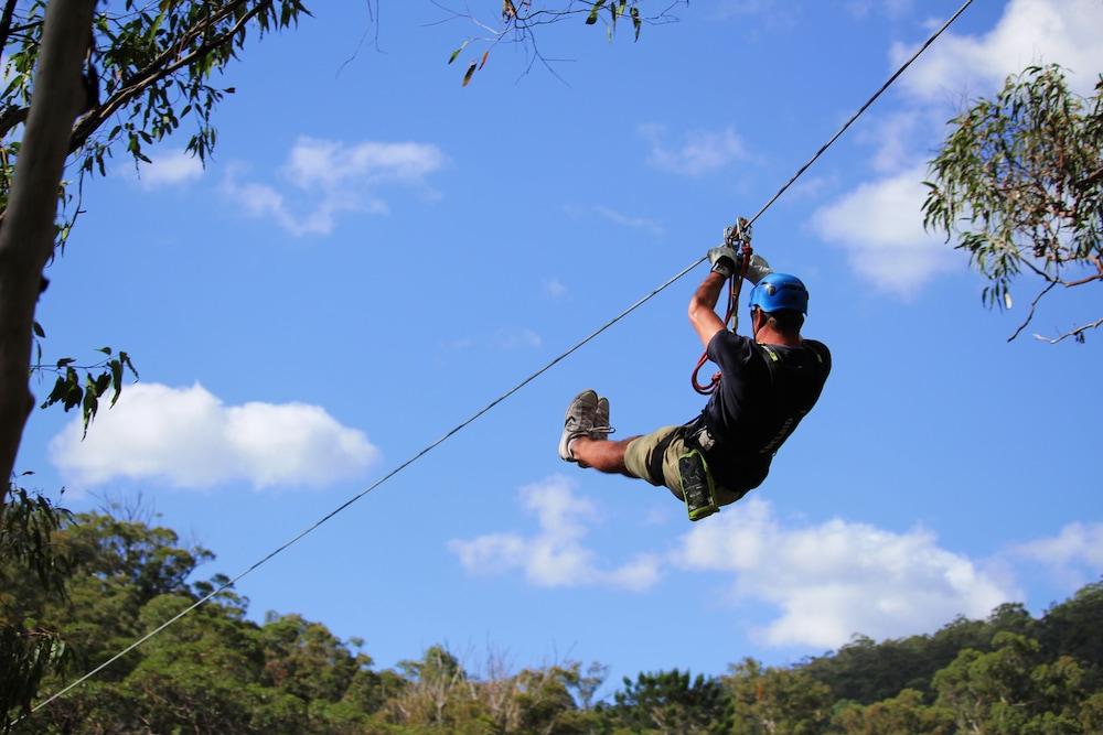 繩索課程 (團隊合作)