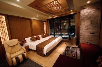 ツインルーム 2 ベッドルーム 喫煙可 45㎡ ホテル ココグラン高崎
