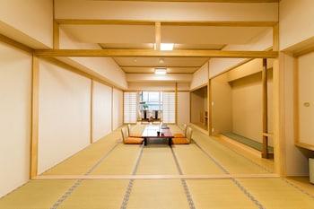 ゆったり和室(18畳)喫煙可 共用バスルーム|50㎡|里湯昔話 雄山荘