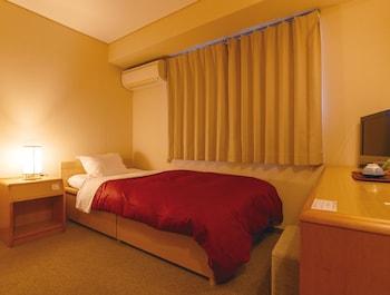 シングルルーム 禁煙 (共同バスルーム)|5㎡|里湯昔話 雄山荘