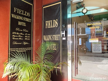 Fields Walking Street Hotel Pampanga Hotel Entrance