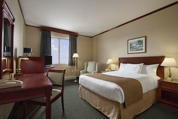 Room 1 Queen Bed (Parking included for 14 days)