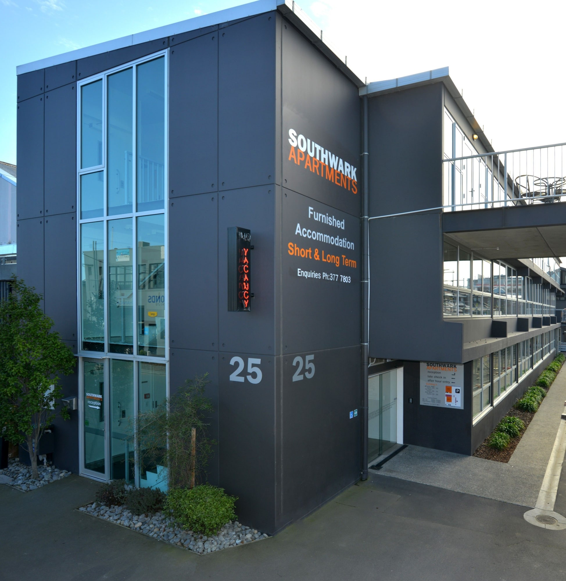 Southwark Hotel & Apartments, Christchurch