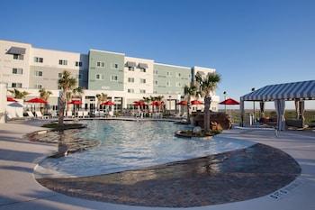 加爾維斯頓島嶼萬怡飯店 Courtyard by Marriott Galveston Island