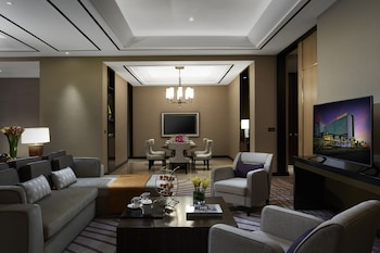 Solaire Hotel Manila Living Room