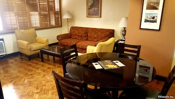 Lourdes Suites Makati Living Area