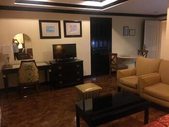 Lourdes Suites Makati Living Room