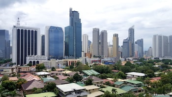 Lourdes Suites Makati View from Hotel
