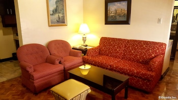 Lourdes Suites Makati Living Room