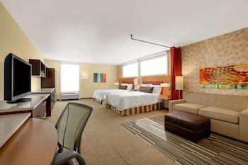 Premium Studio, 2 Queen Beds, Accessible, Bathtub