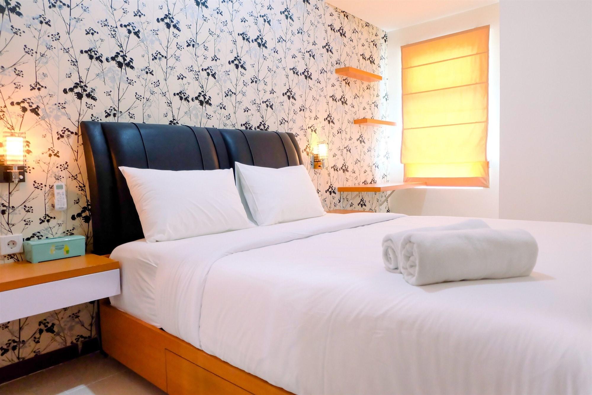 1BR Sea View Condominium at Green Bay Pluit Apartment, North Jakarta
